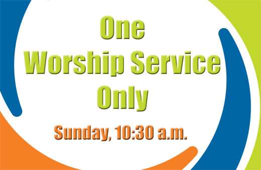 One Worship Service