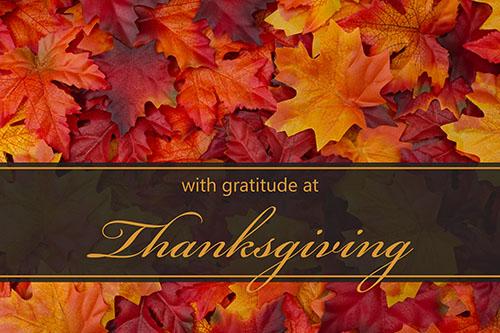All Church Thanksgiving
